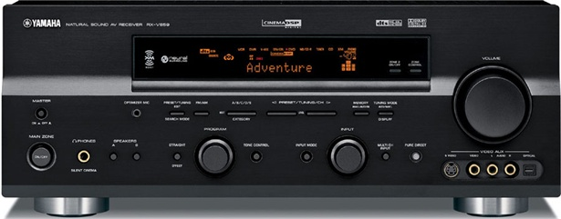 Yamaha Rx V661 Receiver My Home Theater Network