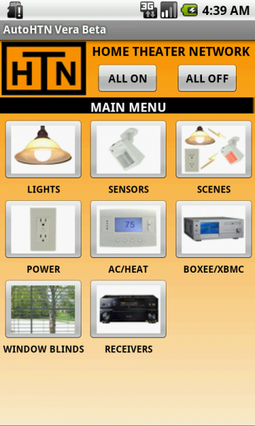 Autohtn home automation app for Android