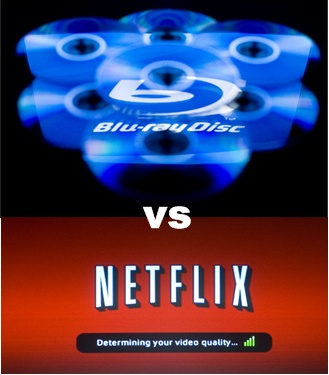 The New Blue vs Red Format War - Blu-ray vs Netflix