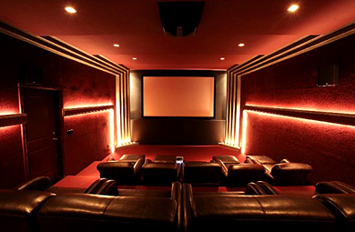 A movie theater or a home theater my home theater network Home movie theater